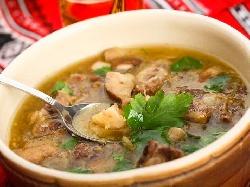 Супа / чорба от свински език, целина, алабаш и моркови - снимка на рецептата